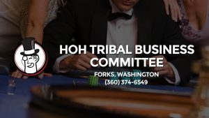 Casino & gambling-themed header image for Barons Bus Charter service to Hoh Tribal Business Committee in Forks, Washington. Please call 3603746549 to contact the casino directly.)
