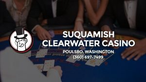 Casino & gambling-themed header image for Barons Bus Charter service to Suquamish Clearwater Casino in Poulsbo, Washington. Please call 3606977499 to contact the casino directly.)