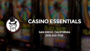 Casino & gambling-themed header image for Barons Bus Charter service to Casino Essentials in San Diego, California. Please call 6192027725 to contact the casino directly.)