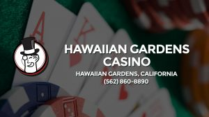 Casino & gambling-themed header image for Barons Bus Charter service to Hawaiian Gardens Casino in Hawaiian Gardens, California. Please call 5628608890 to contact the casino directly.)