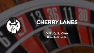 Casino & gambling-themed header image for Barons Bus Charter service to Cherry Lanes in Dubuque, Iowa. Please call 5636904823 to contact the casino directly.)