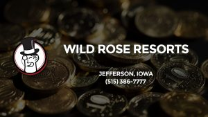 Casino & gambling-themed header image for Barons Bus Charter service to Wild Rose Resorts in Jefferson, Iowa. Please call 5153867777 to contact the casino directly.)