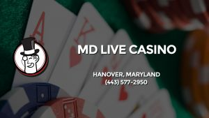 Casino & gambling-themed header image for Barons Bus Charter service to Md Live Casino in Hanover, Maryland. Please call 4435772950 to contact the casino directly.)