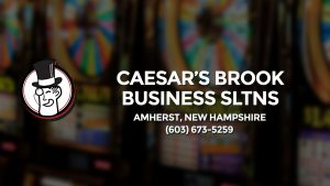 Casino & gambling-themed header image for Barons Bus Charter service to Caesar's Brook Business Sltns in Amherst, New Hampshire. Please call 6036735259 to contact the casino directly.)