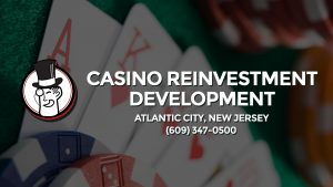 Casino & gambling-themed header image for Barons Bus Charter service to Casino Reinvestment Development Authority in Atlantic City, New Jersey. Please call 6093470500 to contact the casino directly.)