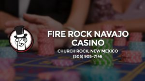 Casino & gambling-themed header image for Barons Bus Charter service to Fire Rock Navajo Casino in Church Rock, New Mexico. Please call 5059057146 to contact the casino directly.)