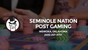 Casino & gambling-themed header image for Barons Bus Charter service to Seminole Nation Post Gaming in Wewoka, Oklahoma. Please call 4052573737 to contact the casino directly.)