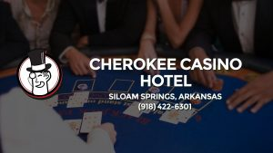 Casino & gambling-themed header image for Barons Bus Charter service to Cherokee Casino Hotel in Siloam Springs, Arkansas. Please call 9184226301 to contact the casino directly.)