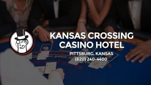 Casino & gambling-themed header image for Barons Bus Charter service to Kansas Crossing Casino Hotel in Pittsburg, Kansas. Please call 6202404400 to contact the casino directly.)