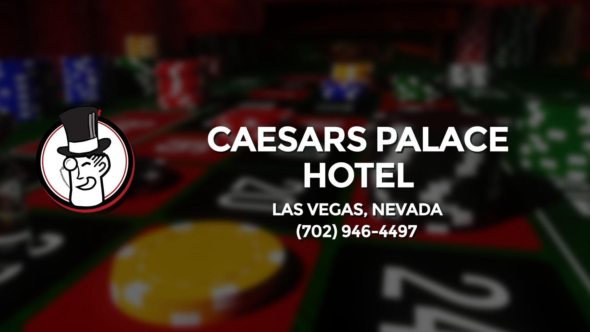 CAESARS PALACE HOTEL LAS VEGAS NV