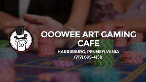 Casino & gambling-themed header image for Barons Bus Charter service to Ooowee Art Gaming Cafe in Harrisburg, Pennsylvania. Please call 7176954158 to contact the casino directly.)