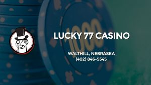 Casino & gambling-themed header image for Barons Bus Charter service to Lucky 77 Casino in Walthill, Nebraska. Please call 4028465545 to contact the casino directly.)