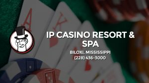 Casino & gambling-themed header image for Barons Bus Charter service to Ip Casino Resort & Spa in Biloxi, Mississippi. Please call 2284363000 to contact the casino directly.)