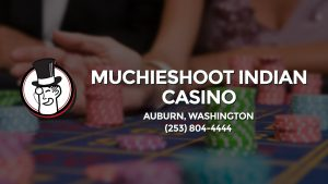 Casino & gambling-themed header image for Barons Bus Charter service to Muchieshoot Indian Casino in Auburn, Washington. Please call 2538044444 to contact the casino directly.)