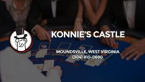 Casino & gambling-themed header image for Barons Bus Charter service to Konnie's Castle in Moundsville, West Virginia. Please call 3048100690 to contact the casino directly.)