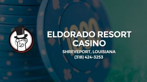 Casino & gambling-themed header image for Barons Bus Charter service to Eldorado Resort Casino in Shreveport, Louisiana. Please call 3184243253 to contact the casino directly.)