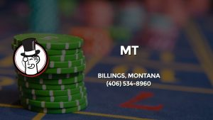 Casino & gambling-themed header image for Barons Bus Charter service to Mt in Billings, Montana. Please call 4065348960 to contact the casino directly.)