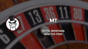 Casino & gambling-themed header image for Barons Bus Charter service to Mt in Butte, Montana. Please call 4067237200 to contact the casino directly.)