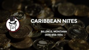 Casino & gambling-themed header image for Barons Bus Charter service to Caribbean Nites in Billings, Montana. Please call 4066561934 to contact the casino directly.)