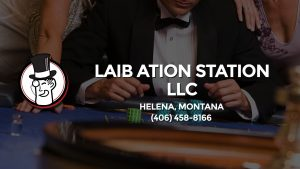 Casino & gambling-themed header image for Barons Bus Charter service to Laib Ation Station Llc in Helena, Montana. Please call 4064588166 to contact the casino directly.)