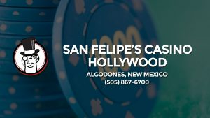 Casino & gambling-themed header image for Barons Bus Charter service to San Felipe's Casino Hollywood in Algodones, New Mexico. Please call 5058676700 to contact the casino directly.)