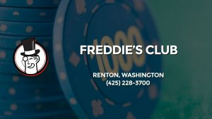 Casino & gambling-themed header image for Barons Bus Charter service to Freddie's Club in Renton, Washington. Please call 4252283700 to contact the casino directly.)