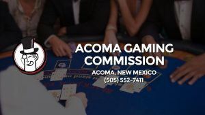 Casino & gambling-themed header image for Barons Bus Charter service to Acoma Gaming Commission in Acoma, New Mexico. Please call 5055527411 to contact the casino directly.)
