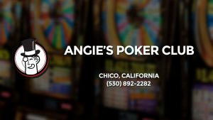 Casino & gambling-themed header image for Barons Bus Charter service to Angie's Poker Club in Chico, California. Please call 5308922282 to contact the casino directly.)