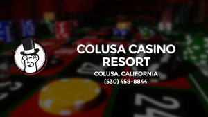 Casino & gambling-themed header image for Barons Bus Charter service to Colusa Casino Resort in Colusa, California. Please call 5304588844 to contact the casino directly.)