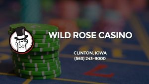 Casino & gambling-themed header image for Barons Bus Charter service to Wild Rose Casino in Clinton, Iowa. Please call 5632439000 to contact the casino directly.)