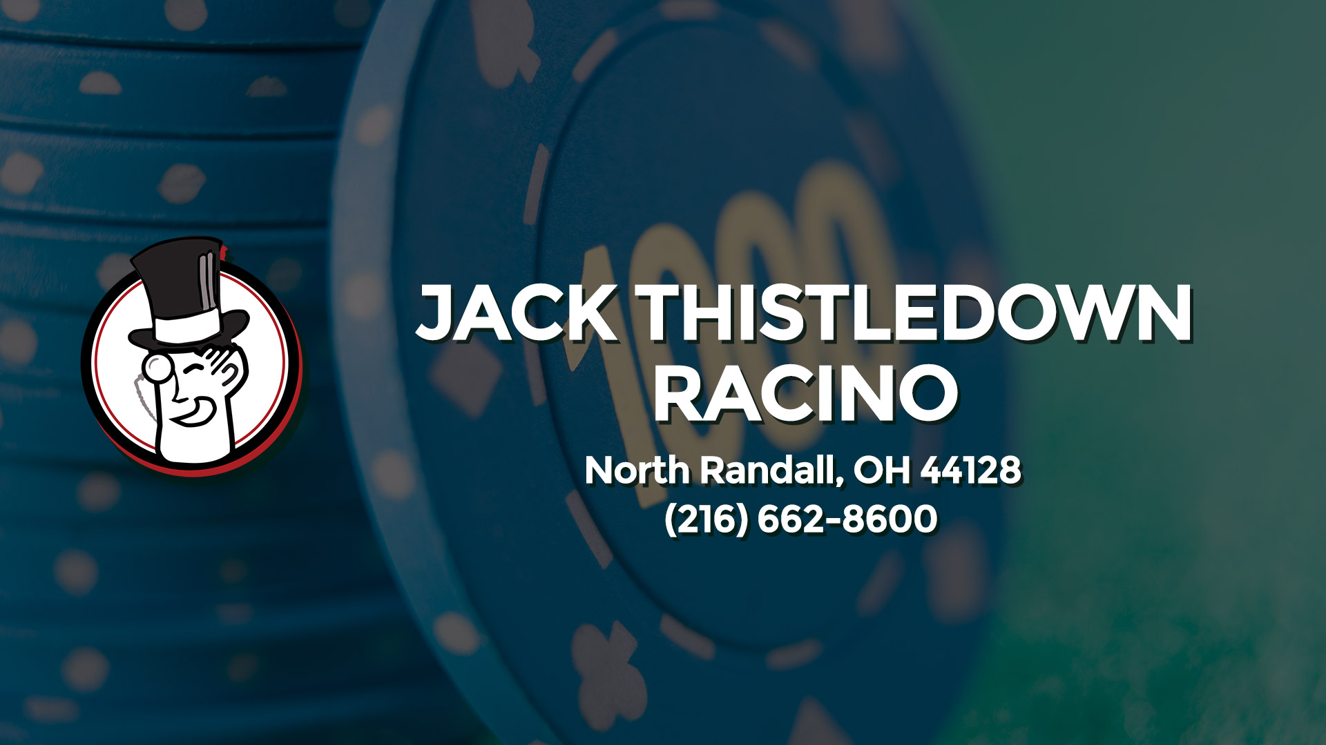 JACK THISTLEDOWN RACINO NORTH RANDALL OH