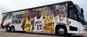barons bus fan express cleveland cavs