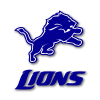 barons bus team logo detroit lions