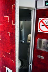 barons bus interior restroom
