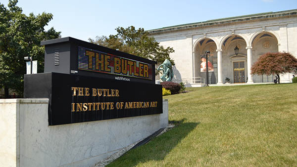 charter bus youngstown ohio attractions butler institute of american art