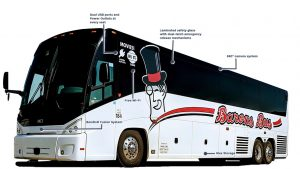 barons bus left face our fleet catalog details