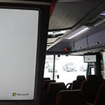 barons bus our fleet charter services accomodations flat screen monitor 150x150