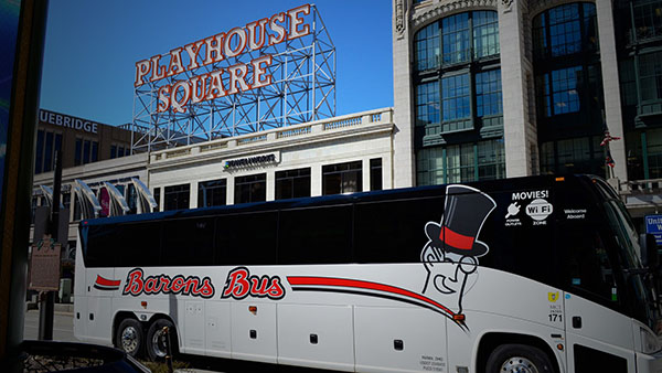 barons bus our fleet gallery parked playhouse square 600x338