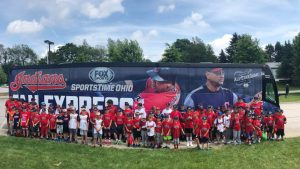 barons bus charter bus group charters cleveland indians fans
