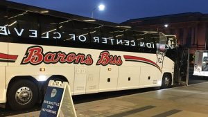 barons bus charter bus meetings and convention center cleveland