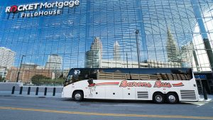 barons bus rental near me gallery at rocket mortgage fieldhouse