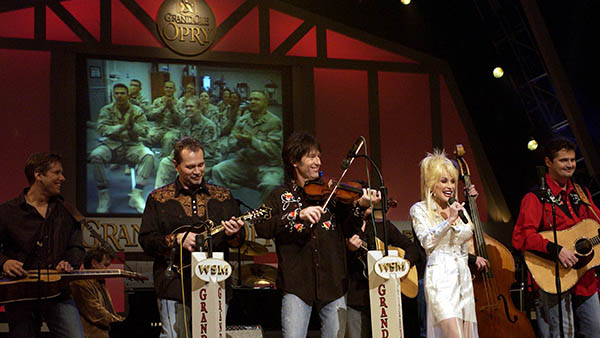 charter bus nashville tennessee attractions grand ole opry dolly parton