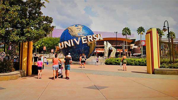 charter bus orlando florida attractions universal studios globe
