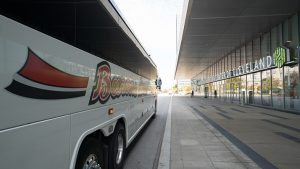 charter buses near me gallery barons bus at cleveland convention center