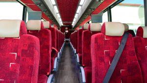 school bus rental gallery barons motor coach bus interior