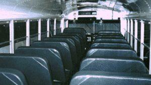 school bus rental gallery old interior