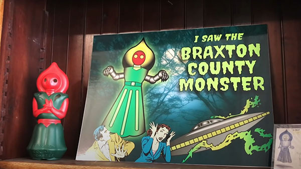 barons bus tickets city attraction flatwoods monster museum sutton wv
